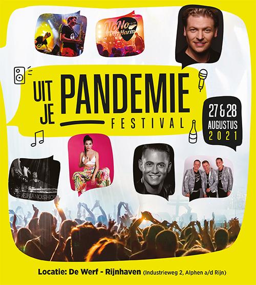 Uit je pandemie festival vrijdag
